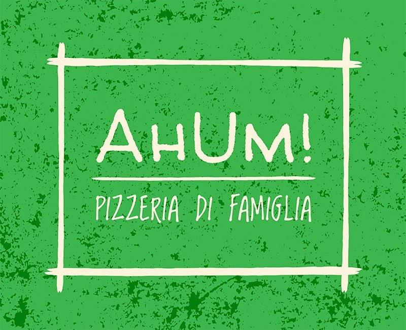 Logo Pizzeria Ahum!