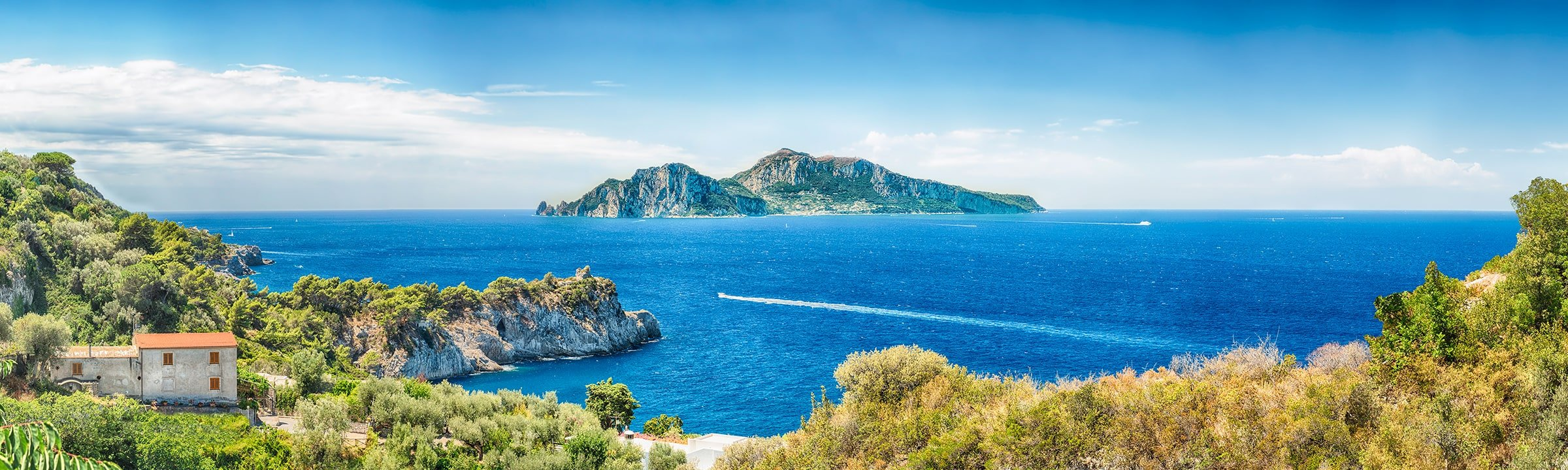 Sorrento Coast and Capri