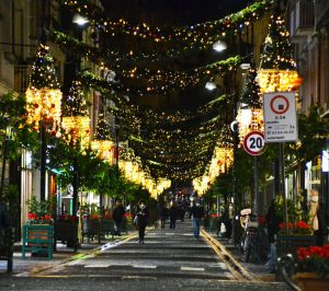 Natale e la magia dei colori Corso Italia Sorrento