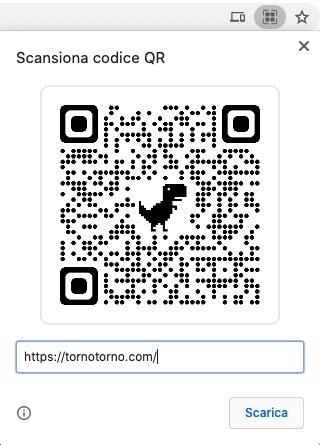 qr code dino chrome 88