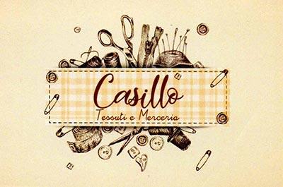 Logo Casillo tessuti e merceria